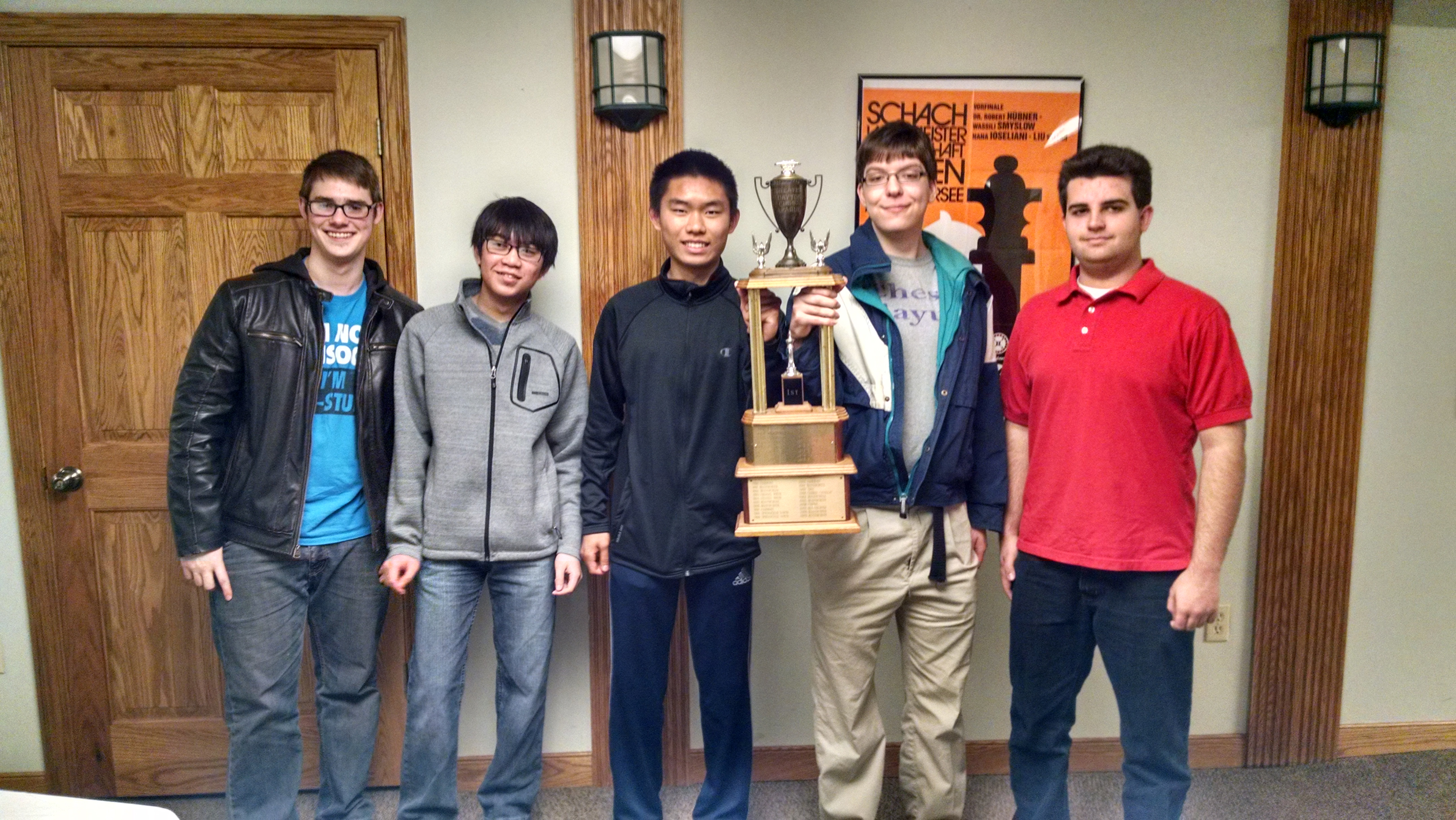 Butler Chess Team Wins City Tournament