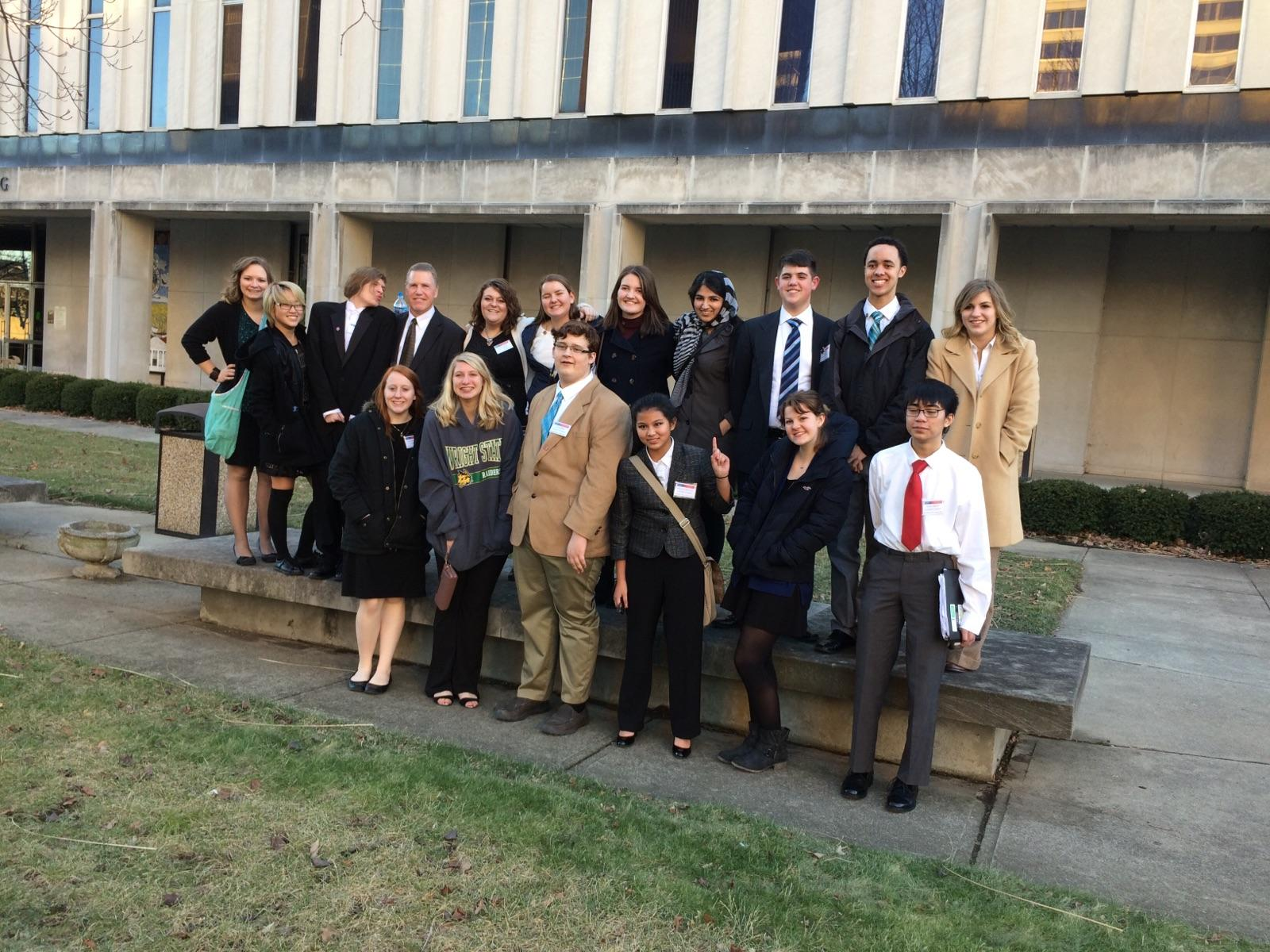 Mock Trial Team Honored