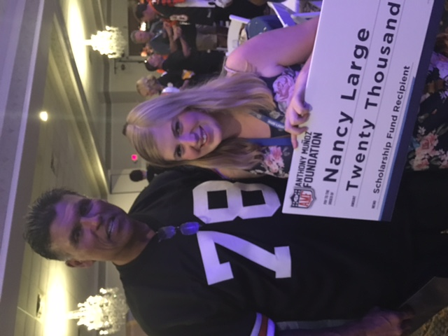 2016 Graduate Earns $20,000 Anthony Munoz Scholarship