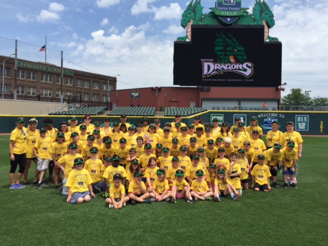 B.A.S.E Campers Visit Fifth Third Field