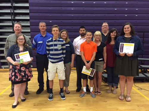 8th Graders Honored at Annual Farewell Event