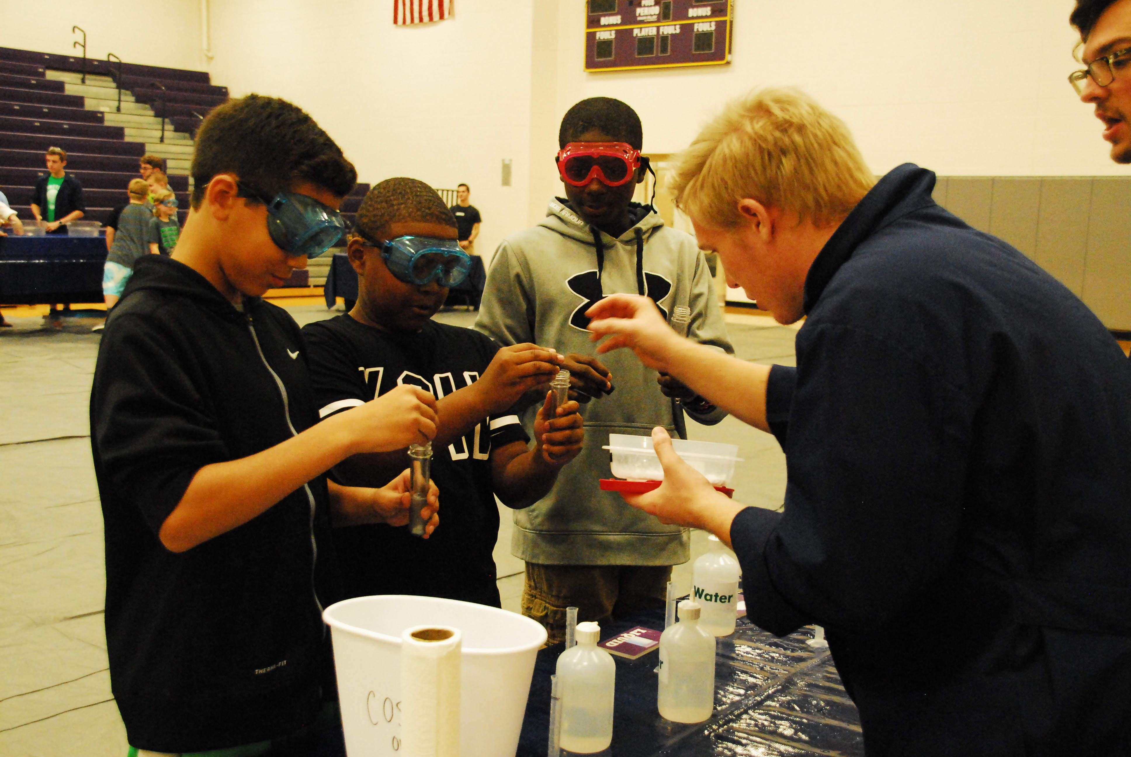 From Slime to Slides, Morton Students Get Hands on with Science
