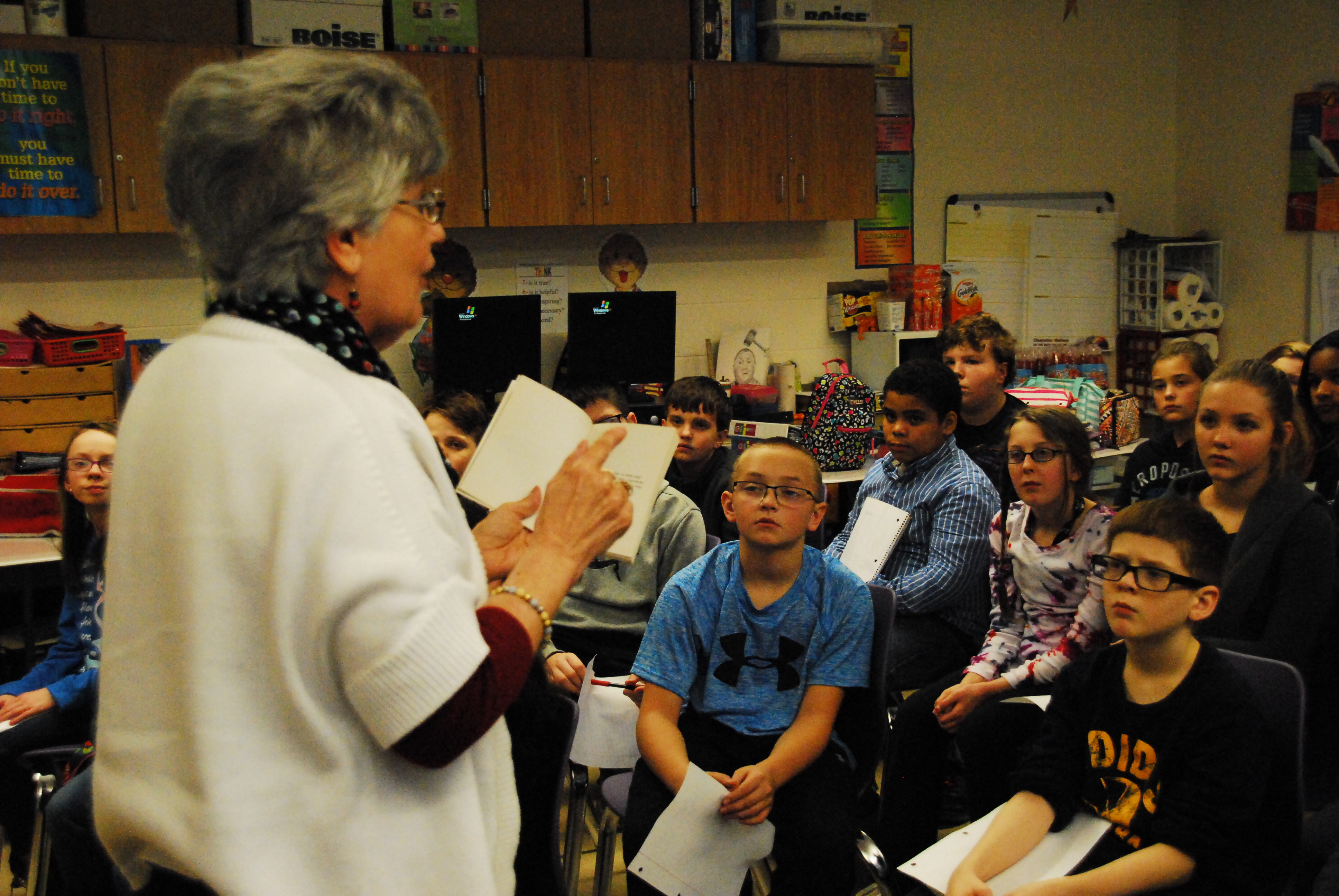 Sixth Graders Recognize Black History Month