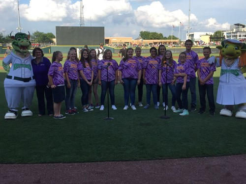 soundwAVES Performs at Dayton Dragons