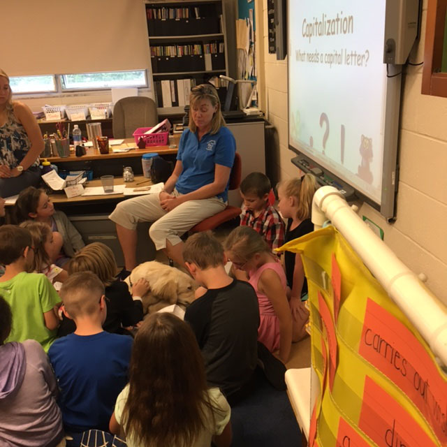 Third Graders See Paper Topic in Person