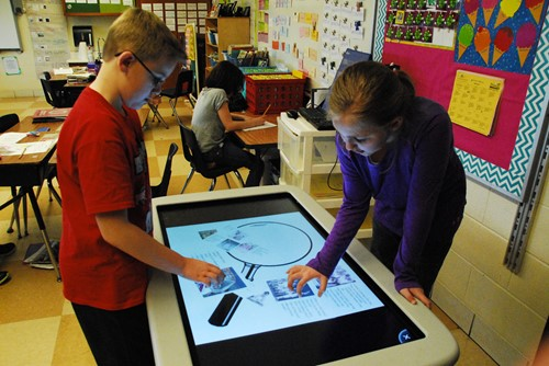 Smart Table Offers Enhanced Learning Opportunities
