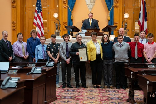 Senator Lehner Honors Bowling Team